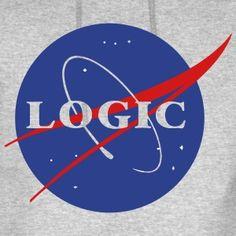 Logic Nasa (Rapper) Hoodies - Men's Hoodie
