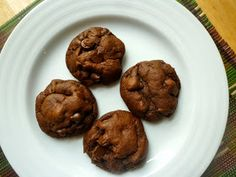 What's Baking in the Barbershop?!: Double Chocolate Fudge Cookies