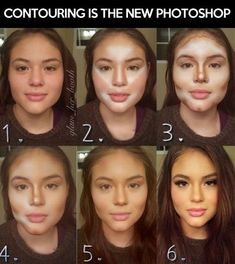 What sorcery is this?! #beauty #contouring