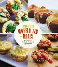 Discover 70 healthy and delicious recipes for your muffin tin! Breakfast in the car? Party without plates? Perfectly sized portions without cutting or scooping? It's a snap with snacks and meals made