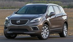 The 2017 Buick Envision is a small crossover SUV that competes with the Acura RDX and the Lincoln MKC. The Envision seats five and for it adds trim lev. Crossover Suv, Suv Comparison, Toyota Rav4 Hybrid, Buick Envision, Small Suv, Compact Suv, Kia Sportage, Kia Sorento