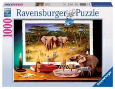 Ravensburger Jigsaw Puzzle 1000 pieces - Nocturnal Visitors: Amazon.co.uk: Toys & Games