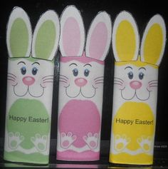 Easter Bunny Candy Bar Wrappers by SweetDee484 on Etsy, $25.00