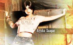 Aiysha Saagar Hot Wallaper