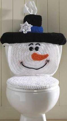 Amigas, aqui les muestro los juegos de baño de Santa y del Muñeco de Nieve.