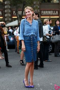 nur fashion: kalem etek modası