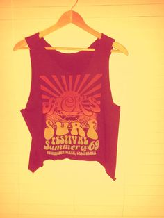 Surf Festival Tank Top by TheLotusPetals on Etsy, $10.00