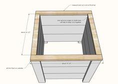 Easy Build DIY Planter Box | Ana White White Planter Boxes, Garden Planter Boxes, White Planters, Diy Planters, Tiered Planter, Diy Pallet Projects, Woodworking Projects Diy, Planter Box Plans, Outdoor Furniture Plans