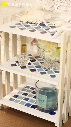 夏が近づいてくると、涼やかな雰囲気のお部屋にしたくなりますよねブルーを基調にしたアイテムなら