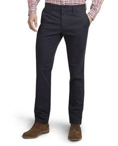 Tmavě modré volnočasové kalhoty Cassidy,