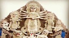World's Largest Tallest Durga Idol at Deshapriya Park, Kolkata l Durga P...