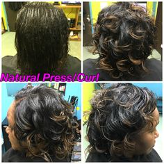 Natural Press & Curl  Call 601-946-5161 for appointments