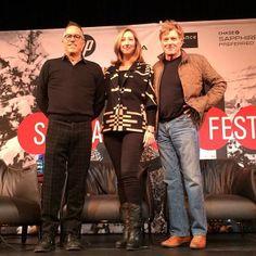 Day One Press Conference here we go! John Cooper Keri Putnam Robert Redford #Sundance via @SundanceInstitute
