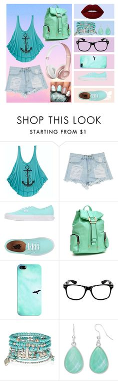 """""""Summer Walk"""" by emilygrace139 on Polyvore featuring косметика, Billabong, Vans, Dasein, Casetify, Accessorize, Liz Claiborne и Lime Crime"""
