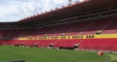 """Ilha do Retiro"". Templo Sagrado do ""Sport Club do Recife"", aka ""Sport"" ou ""Sport-Recife"". #Recife. Estado de Pernambuco, Brasil."