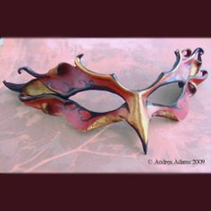 Phoenix Mask One of a kind firebird or phoenix mask. Theatre Nerds, Theater, Animal Masquerade Masks, Juniper Tree, Earth Wind & Fire, Bird Masks, Battle Cry, Leather Mask, Fantasy Costumes