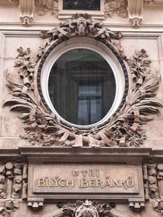Oval windows in France are so chic, so fascinating.... anywhere else, they're just portholes.