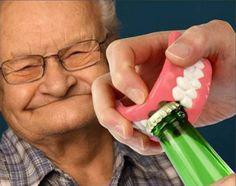 teeth bottle opener