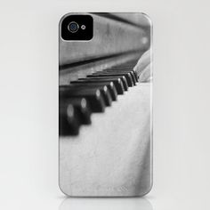 Music iPhone 5 case Piano Keys cover $45.00, via Etsy.