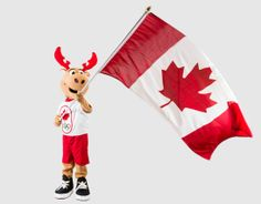 Komak the Canadian Olympic Team mascot | Canadian Olympic Committee