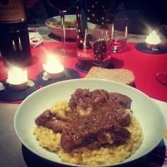 #Italian #ossibuchi #risotto