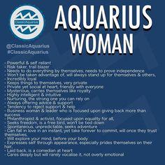 #ClassicAquarius #Aquarius