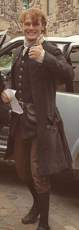 saved from yellowfeather84.tumblr.com Outlander 2017, Outlander Film, Outlander Season 3, Outlander Book Series, Sam And Cait, Diana Gabaldon, Jamie Fraser, Sam Heughan, Poster