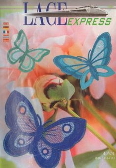 "Кружева на коклюшках: Журнал ""Lace Express"" № 4/2001"