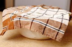 Оставляем тесто в теплом месте