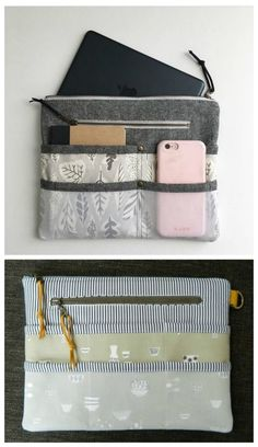 Purse organiser pattern. This is a zipper pouch that you can slip inside  your main ee9c1a48b4b