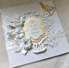 ... Golden wedding anniversary, Wedding and Wedding anniversary cards