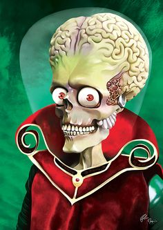 _Mars Attacks_ - by Flore Maquin [=> http://www.flore-maquin.com/mars-attack/ ]