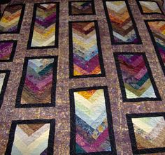 Full Size Quilt Quilt Fall Colors Autumn Braid by KQCreations, $550.00