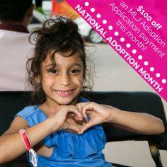 Celebrate National Adoption Month! - »
