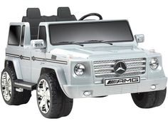 Mercedes Benz G55 12v Truck BY NPL | Gray Exclusive: FREE Shipping! Delivery 1 - 5 Business Days, Ships Same Day if Order Placed by 2PM ET. Rev up the fun with this realistic Mercedes G55 ride-on, Lic