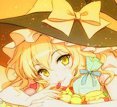 anime, kawaii, and touhou image Desu Desu, Anime Witch, Fan Anime, Kawaii Anime Girl, Anime Girls, Mythical Creatures Art, Anime Hair, Manga Girl, Art Girl