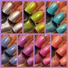 Polish Obsession: Cirque Heritage Collection - Swatches & Review #cirquecolors #indiepolish