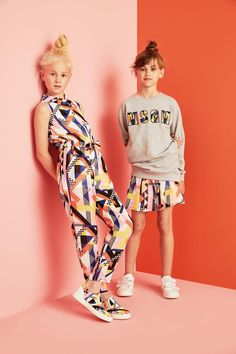 MSGM kids spring summer 2016 geometry - Fannice Kids Fashion                                                                                                                                                                                 More