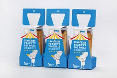Lung-Ching Egg Roll packaging developed by Victor Design.