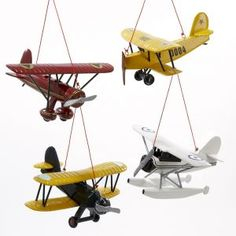 These Look Like The Planes That I Have Hanging In Drey S Room Aviation Nursery Airplane