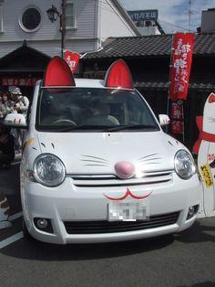Japanese Manekineko Cat Car|まねき猫 デコ車