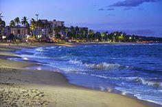 Praia de Jatiúca - Maceió - Alagoas - Brasil