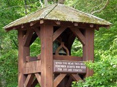Camp #Yawgoog Turns 100.  An article by Cynthia Drummond and images by Harold Hanka posted to The Westerly Sun on July 19, 2015.  Shown is the Memorial Bell Tower.