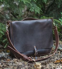 Stephen Leather Messenger Bag | Based on a classic mail carrier from the early 20th century, t... | Messenger Bags