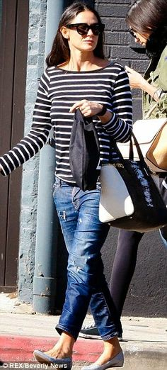 The Style Blog by Bobbi: Celebrity street style -- Demi Moore