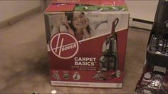 Hoover Basics Carpet Cleaner (product review)