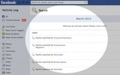 How To View Your Facebook Search History  See more at: http://www.twelveskip.com/tutorials/facebook/232/how-to-view-your-facebook-search-history  #tech #tutorial