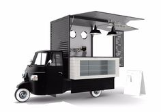 Piaggio Classic Catering Van www.DogeatDogInc.com street food vehicle .jpg (1000×696)