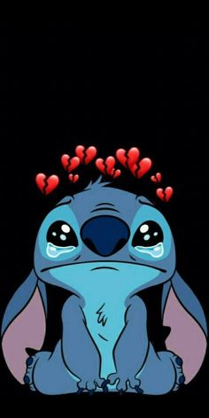 Funny Phone Wallpaper, Disney Phone Wallpaper, Cartoon Wallpaper Iphone, Sad Wallpaper, Cute Cartoon Wallpapers, Lilo And Stitch Drawings, Image Triste, Disney Collage, Cute Disney Drawings