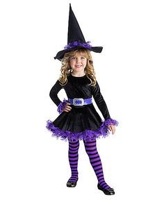 All Toddler Halloween Costumes Toddler Witch Costumes, Cute Witch Costume, Little Girl Halloween, Toddler Girl Halloween, Family Halloween, Halloween 2016, Classic Halloween Costumes, Halloween Costumes For Girls, Activities For Kids